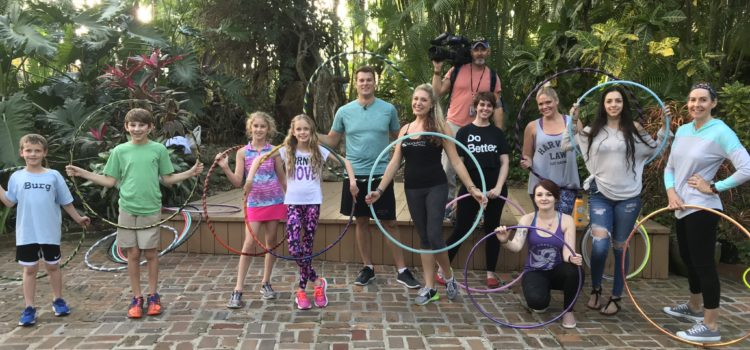 Hula Hoop Workout in the News