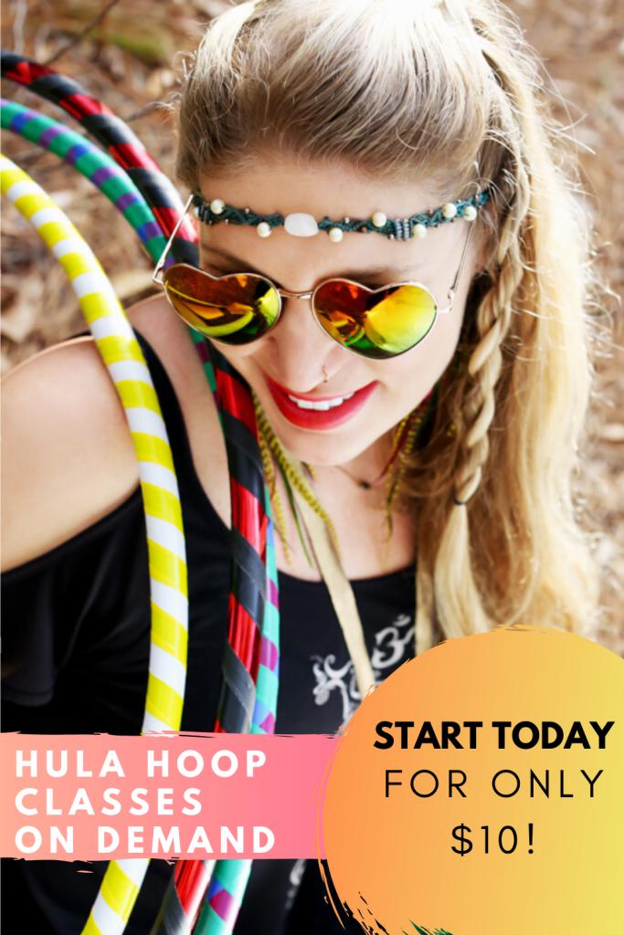 how to hula hoop on demand